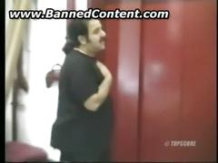 Ron jeremy abusing blonde girl and fucking her