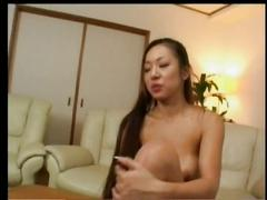 Young japanese girl dance, strip & masturbate