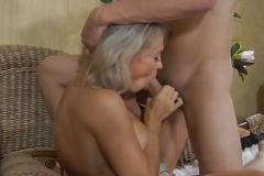 Mom ninette fuck young boy