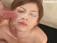 Japanese facial and cumshot collection