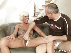 Hot granny getting fucked pretty hard
