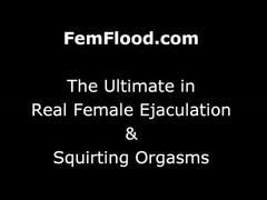 Kali has her first squirting orgasm ever