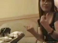 Korean girl karaoke