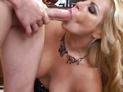 Friday and kelly madison love sharing a hard cock