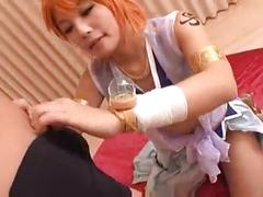 nami,  cosplay, asian, one piece