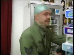 2 russians are forced into a store