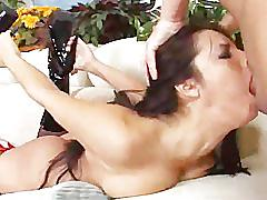 Lorena sanchez gets facefucked hard by alex sanders