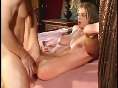 Husband comes home horny from club and fucks his hot young wife