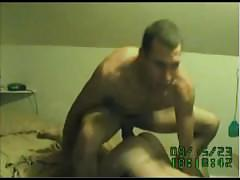 Hot built big cock stud fuckin this lucky slut!