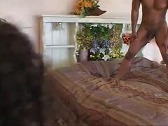 Skinny black princess' hardcore fuck