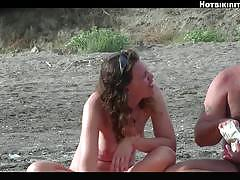 Stripping nude beach girls