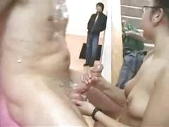 Darering topless pie eating and fucking -