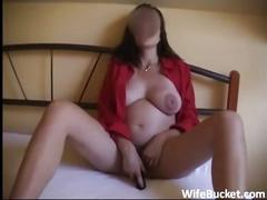 Shy wife homemade sex tape