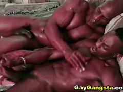 hunks, big cocks, cumshots, anal, hardcore, ass fucking, big black cock, black on black, cumshot, gay blowjob, gays, muscle man