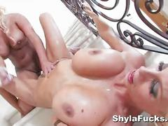 Glamour sex with puma swede & shyla styleztwo blondes are definitely better than
