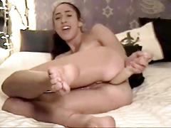 Sexy teem masturbate in  webcam