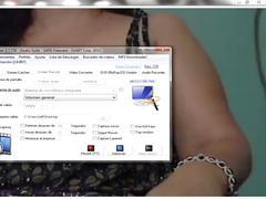 Pereirana cachonda por la web cam