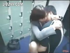 Office lady fucked by amateur in bookstore