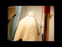 Fertile feline hidden shower