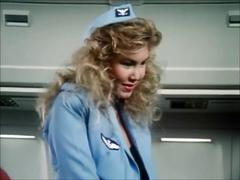 Stewardesses fuck and suck in 'sky foxes' (1986) - part 1