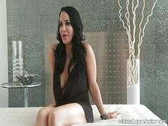 "Big-tit nadya ""octomom"" suleman plays with pussy then interviewed"