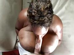 blowjob, ebony