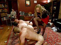 milf, whip, femdom, high heels, swingers, fetish, public disgrace, big breasts, blonde mistress, divine bitches, kink, aiden starr, john jammen, maitresse madeline, john smith, jay wimp