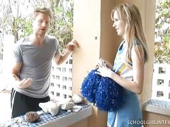 Hot teen cheerleader kelly klass gets heven fucked