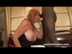 Big tit redhead milf fucking black cock