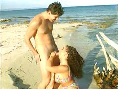 Busty tiziana redford sex on the beach