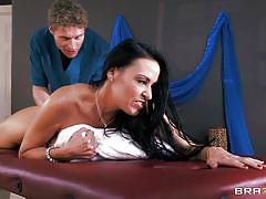 Milf vanilla gets a great massage!
