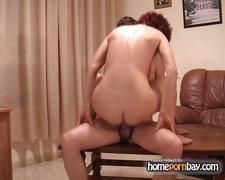 Redhead russian mom and young man p2