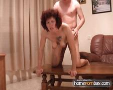 Redhead russian mom and young man p3