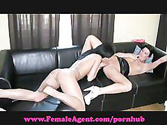 Femaleagent. never been kissed