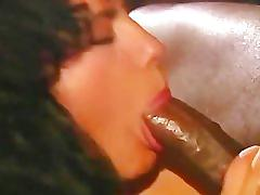 brunette, vintage, threesome, interracial, big-dick, blowjob, classic, retro, mmf, bbc