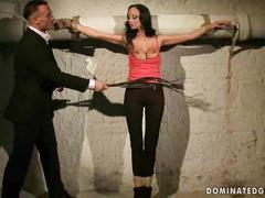 Jennifer morante being punished