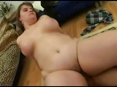 Young fat girl fucking by young boy