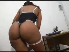 Maid does more than her job and fucks her boss