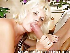 Blonde mature fucked
