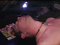 Horny twink rides huge cock in furious sweet anal corruption