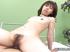 Perverse asian maho sawai gets fucked balls deep