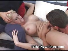 Hubby gives up, asks friend to fuck wife