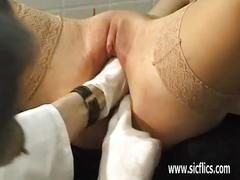 fisting, domination, slave, brunette, extreme, fetish, bizarre, fist, old, skinny, young, gape, submissive, fuck, bondage