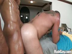 Rubgay hard anal massage