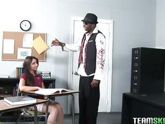Innocent teen giselle leon fucks her teacher
