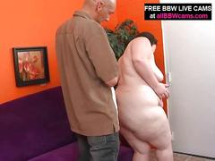 Anna bbw sucks black cock like no tomorrow pt 1