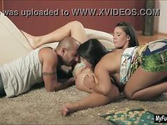 Athina and valentina nappi in threesome