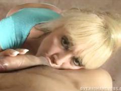 Busty mature lady blowjob