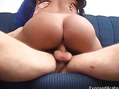 Super hot body real arab slut gets part2