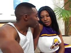 big dick, ebony, hardcore, uniform, big black dick, black booty, black pussy, cheerleader, doggy style, ebony fuck, piledriver